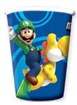 Super Mario Bros.Wii Party Cups pack of 8