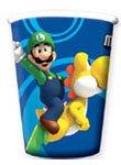 Super Mario Bros: 8bicchieri di carta per feste
