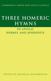 Three Homeric Hymns: To Apollo, Hermes, and Aphrodite...