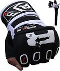 Authentic RDX GEL Wraps Grappling Gloves MMA,UFC,Boxing Mitts, Medium