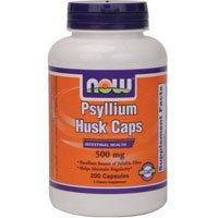 NOW Foods Psyllium Husk 500mg