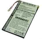 Battery for Creative Zen Vision M (60GB) 30GB BA20603R79914 3.7V 1400mAh