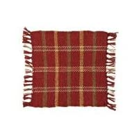 Russet Rib Weave Tablemat 9x9