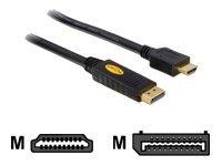 DeLOCK Displayport male > HDMI male 5m  Electrónica Comentarios y descripción más