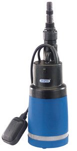 Draper 78779 95-Litres-per-Minute 750-Watt 230-Volt Deep-Water Submersible Well Pump with 24 m Lift and Float Switch