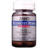 Zand Decongest Herbal, 48-Count (Pack Of 2)