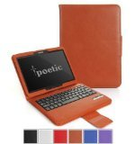 Poetic KeyBook Bluetooth Keyboard Case for Samsung Galaxy Tab 3 10.1 Tablet Brown (3 Year Manufacturer Warranty From Poetic)
