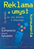 img - for Reklama a umysl konsumenta book / textbook / text book