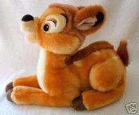 "Disney Store Exclusive 13"" Long Bambi Plush front-937261"