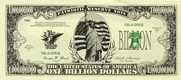 One Billion Dollar Bill (Qty: 25) - 1
