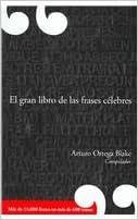 El gran libro de las frases celebres/ The Great Book of Famous Quotes