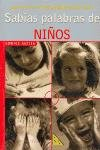 img - for Sabias Palabras de Ninos book / textbook / text book