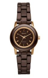 DKNY Ceramic Rose Brown Dial Women's Watch NY8428