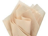 """Brand New Parchment Off-White Ivory Bulk Tissue Paper 15"""" x 20"""" - 100 Sheets"""