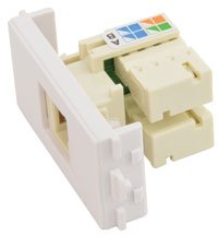 CAT5e RJ45 Modul Buchse für Wandplatte/UTP Ethernet AV LINK Ausgang Gesicht