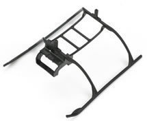 Landing Skid & Battery Mount: MSR/nCP X