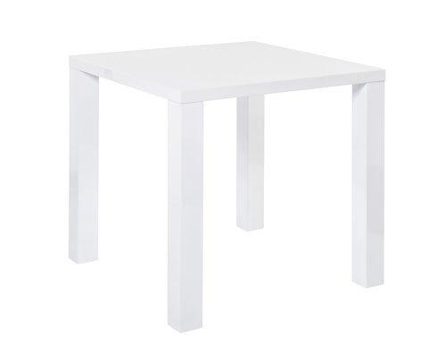 esstisch esszimmertisch k chentisch tisch wei hochglanz quadratisch eckig 80 x 80 cm. Black Bedroom Furniture Sets. Home Design Ideas