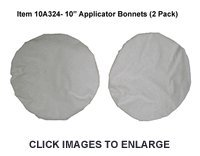 "10"" Terrycloth Applicator Bonnets - 2 Pack"