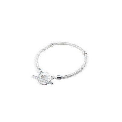 Lovelinks Silver 20cm T-Bar Bracelet
