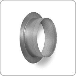 100mm Diameter Flanget Flanged Spigot Galvanised Steel Ducting Diy Tools