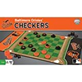 MLB Licensed Team Checkers Game