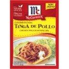 McCormick Chicken Tinga Seasoning Mix, .87 OZ (Pack of 12)