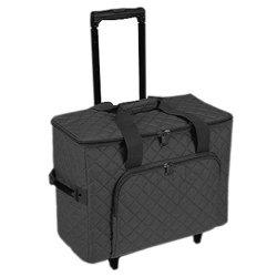 Hemline Black Studio Collection Machine Trolley Bag from hemline