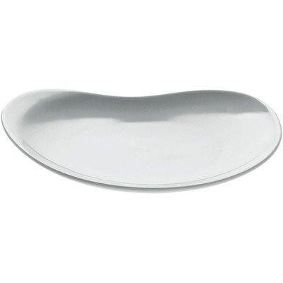 A di Alessi Bettina Soucoupe en porcelaine - Blanc - Set de 4 pièces