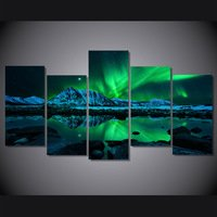 hd-printed-aurora-borealis-painting-on-canvas-room-decoration-print-poster-picture-canvas