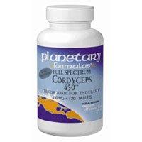 Planetary Herbals Full Spectrum Cordyceps 450,Tabs by Planetary Herbals