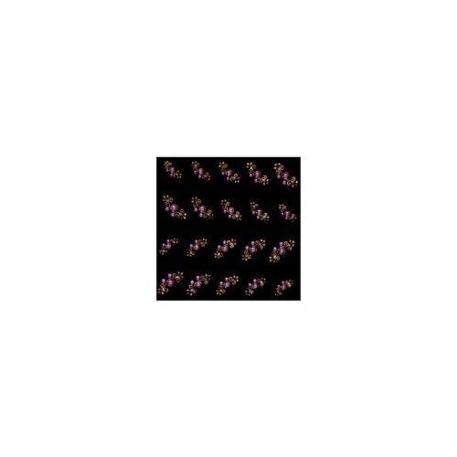 Joby Nail Art Sticker Jewels on Pink Design   H 01
