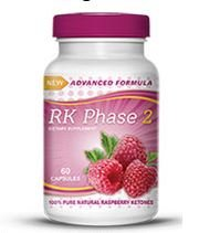 Rk Phase 2 Diet Pills - Maximum Strength Pure Raspberry Ketones Formula - 500mg 60 Capsules by SureHealth Today