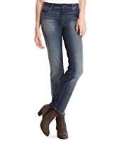 Indigo Collection Straight Leg Denim Jeans