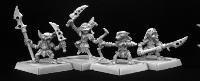 Grim Reaper miniature 60006 Pathfinder series goblin warrior 4 miniature