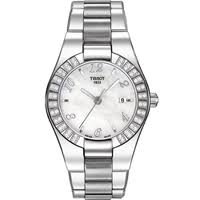 Tissot Glam Sport Mother of Pearl Dial Steel Ladies Watch T0432101111701