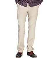 Big & Tall Pure Cotton Tapered Leg Chinos with Stain Defence™