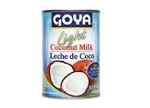 Goya Light Coconut Milk - Leche de Coco 13.5 Ounces