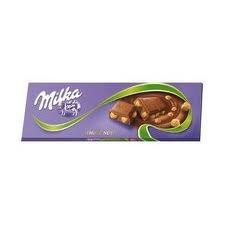 Milka Whole Nuts Large Chocolate Bar (250g /8.82 Oz)