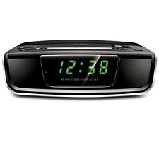 Philips Aj3122 Fm-Mw Clock Radio With Alarm And Battery Back-Up (220 Volts - Not For Usa)