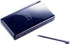 Nintendo Ds Lite Enamel Blue (Japan Version) + Free Complete Gift Package + Uk Power Charger (3 Days Express Ship)