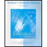 Student's Solutions Manual to accompany Calculus, Multivariable: Early Transcendental Functions (0072869674) by Smith, Robert