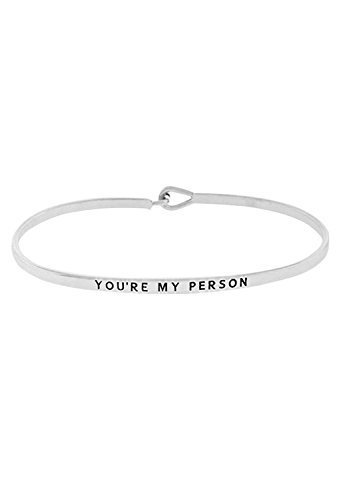 rosemarie-collections-womens-thin-hook-bangle-friendship-bracelet-youre-my-person-silver