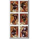 Iron Man Stickers 4 sheets