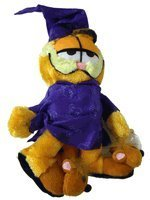 "Meow Garfield Plush - 10"" Garfield in Pajama Stuffed Animal"