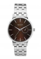 Gant W10923 - Reloj para mujeres, correa de acero inoxidable color plateado