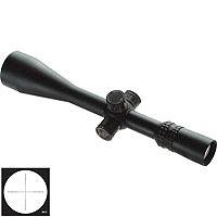 Nightforce 5.5 - 22x56mm NXS Series Rifle Scope, Matte Black Finish with Illuminated ML-R Reticle & ZeroStop Turrets, .1 Mil Rad Adjustments.