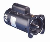 1 5 hp 3450rpm 48y frame 230v square flange pool pump for Square flange pool pump motor