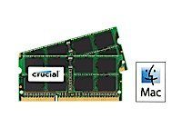 16GB kit (8GBx2) Upgrade for a Apple MacBook Pro (15-inch, Early 2011) System (DDR3 PC3-10600, NON-ECC, )