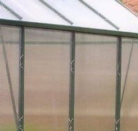 10 Sheets of Greenhouse Polycarbonate Sheet 617x1215mm
