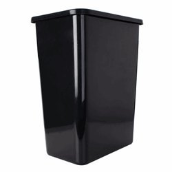 35 Quart Replacement Waste Container Black